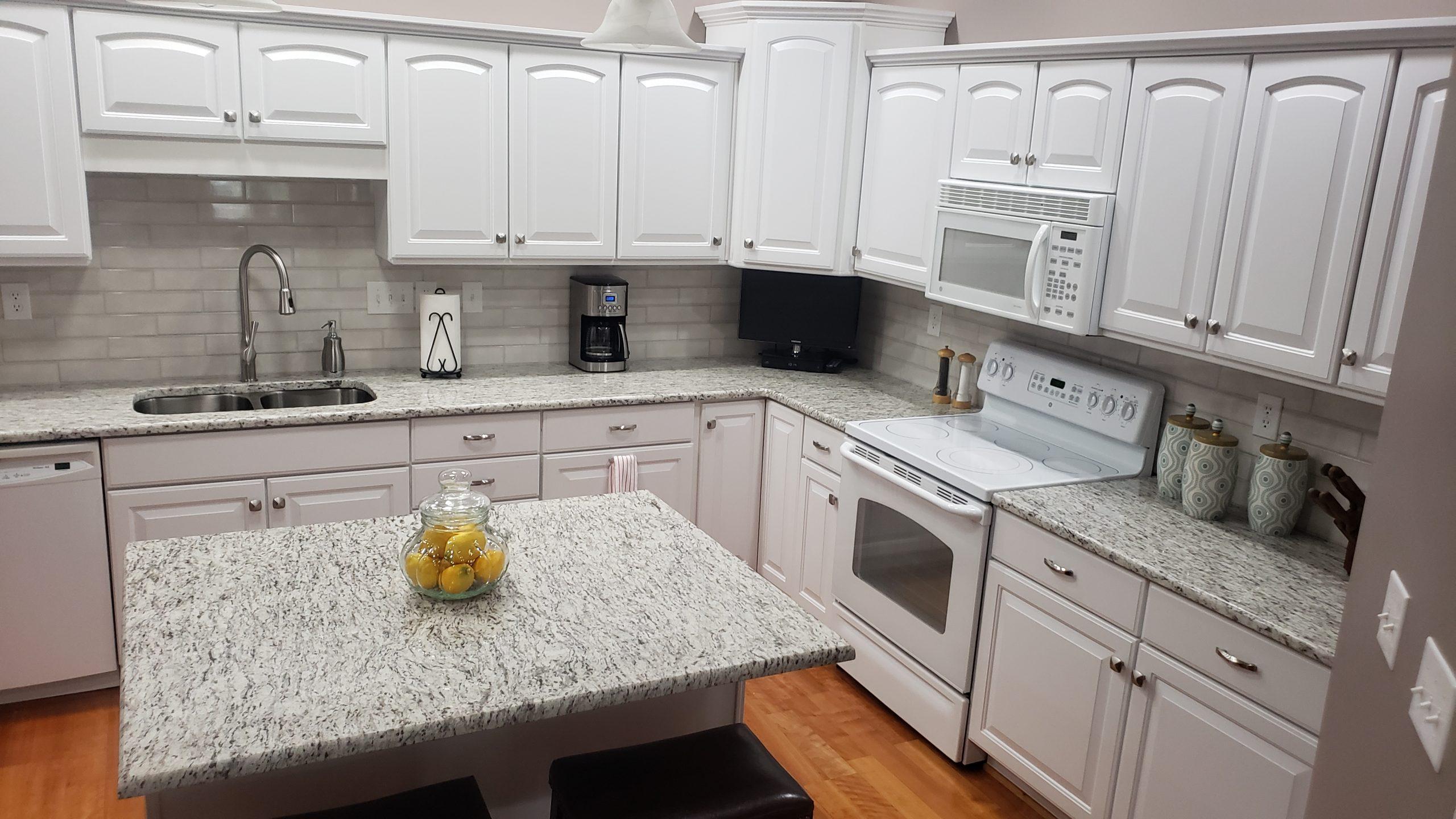 Ornamental Light Kitchen, Granite Concept KY