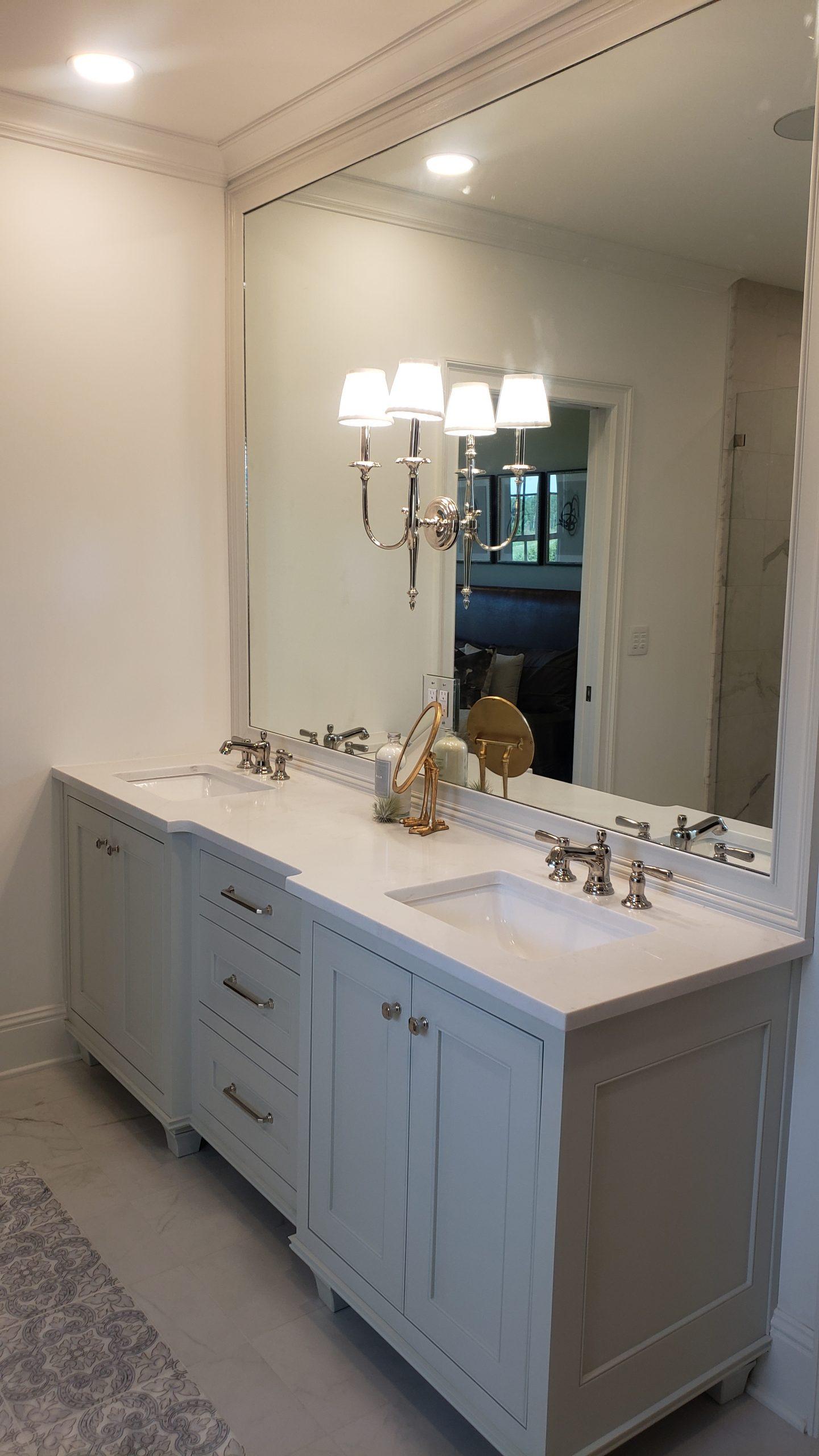 White Quartz Vanity, Granite Concept, KY